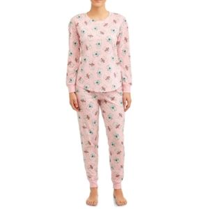 NWT Secret Treasures Bearly Pink Pajama Set. 2X